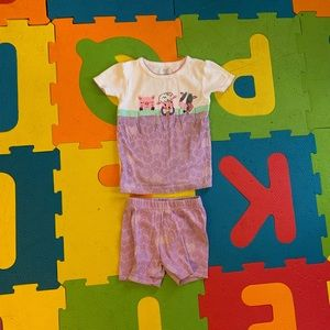 Baby girl 12m pajamas